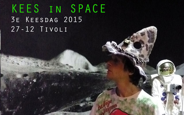 3e Keesdag 2015; Kees in Space